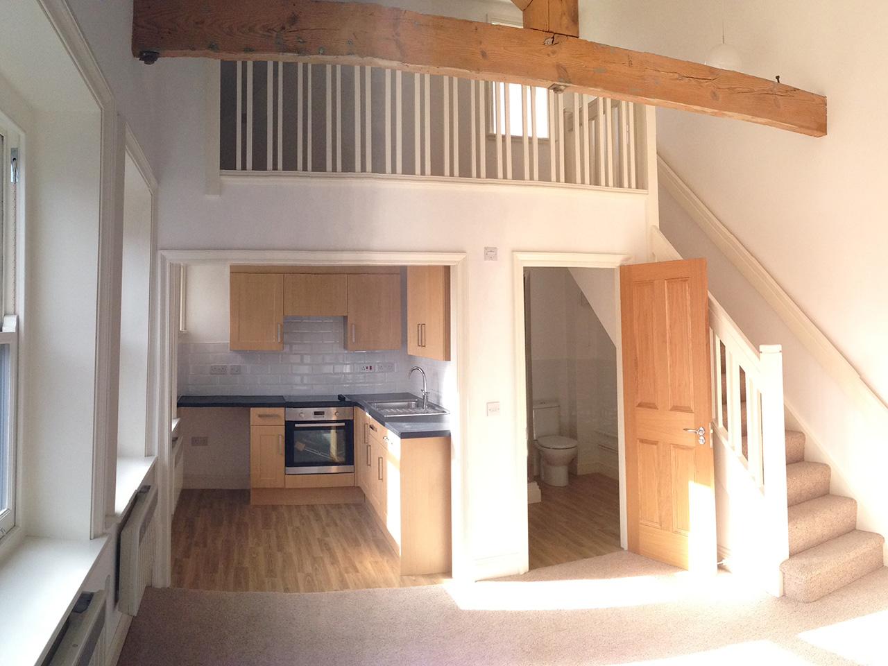 Mezzanine flooring c wood son for Wood mezzanine construction plan